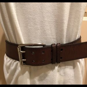 Brown women's belt